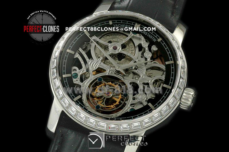VC00009 Malte Tourbillon SS/LE Skeleton Flying Tourbillon