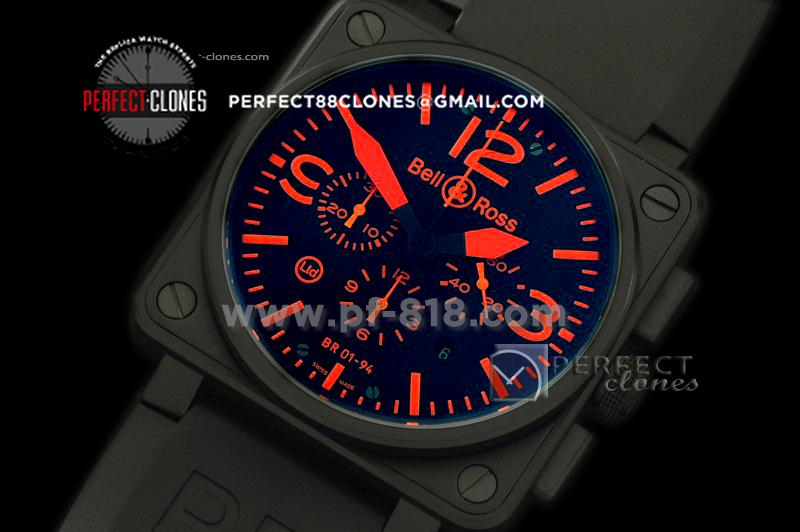 BO-019412 BR01-94 PVD/RU Black/Orange A-7750 Sec @3
