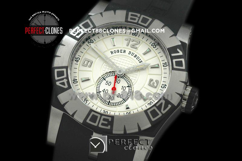 RD00002 Easy Diver Automatic SS/RU White