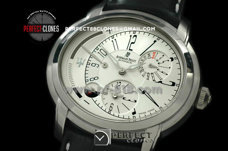 APML10001 Millenary Reserve/Duo Time SS/LE White Asian 23 Auto