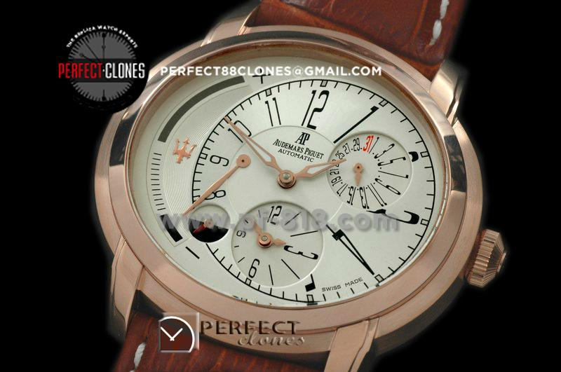 APML10006 Millenary Reserve/Duo Time RG/LE White Asian 23 Auto