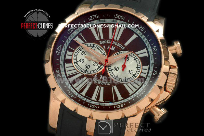 RDCE10008 Chronoexcel RG/RU Brown A-7750 28800BPH